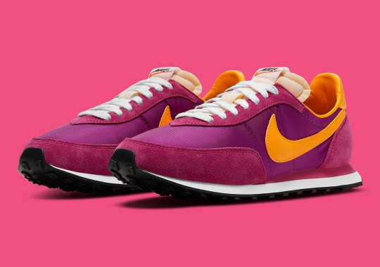 """The Nike Waffle Trainer 2 SP Goes Bold In """"Fireberry"""" Colorway"""