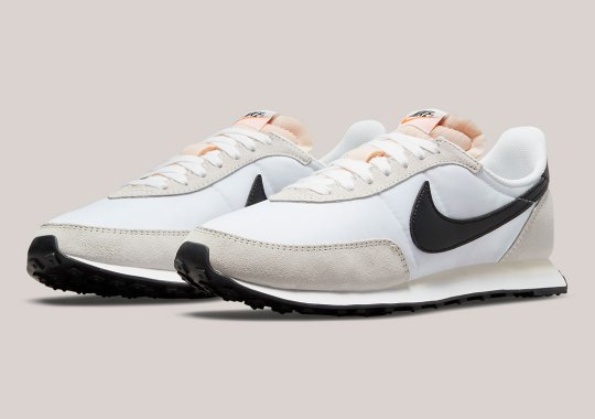 The Nike Waffle Trainer 2 Appears In White And Black