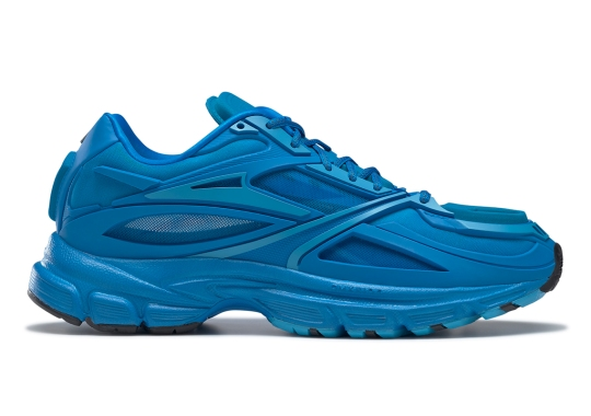 """The Reebok Premier Road Modern Goes Monochromatic Once More In """"Pure Blue"""""""