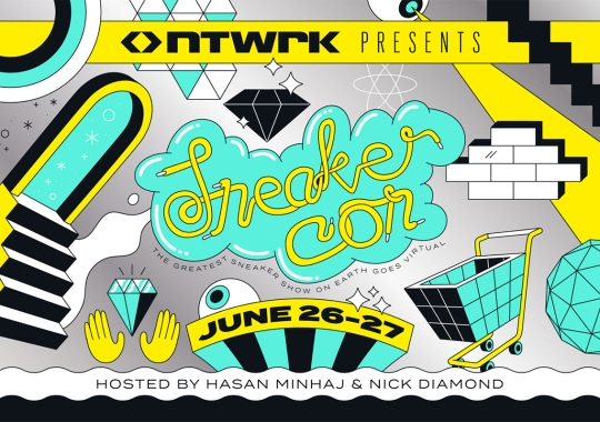 Sneaker Con Teams Up With NTWRK For First-Ever Virtual Event Hosted By Hasan Minhaj And Nick Diamond