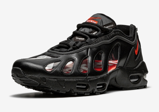 Supreme's Nike Air Max 96 Collaboration Features Completely Clear Windows