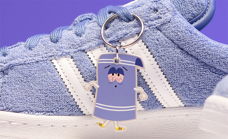 Towelie x adidas Campus 80s