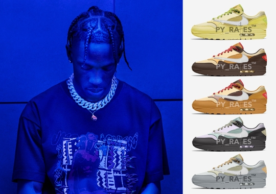 Travis Scott And Nike Are Releasing Five Air Max 1 Collaboration This Holiday 2021