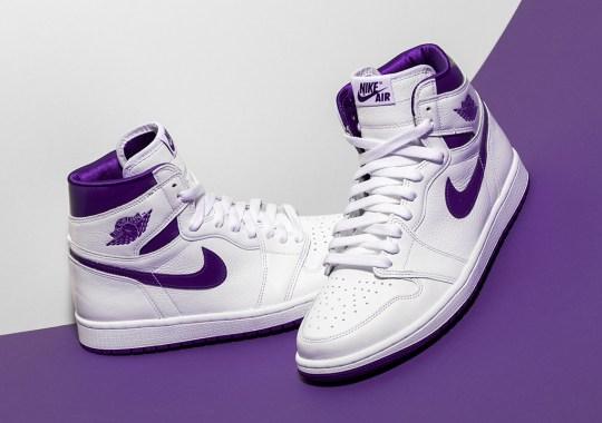 "Where To Buy The Air Jordan 1 Retro High OG Womens ""Court Purple"""