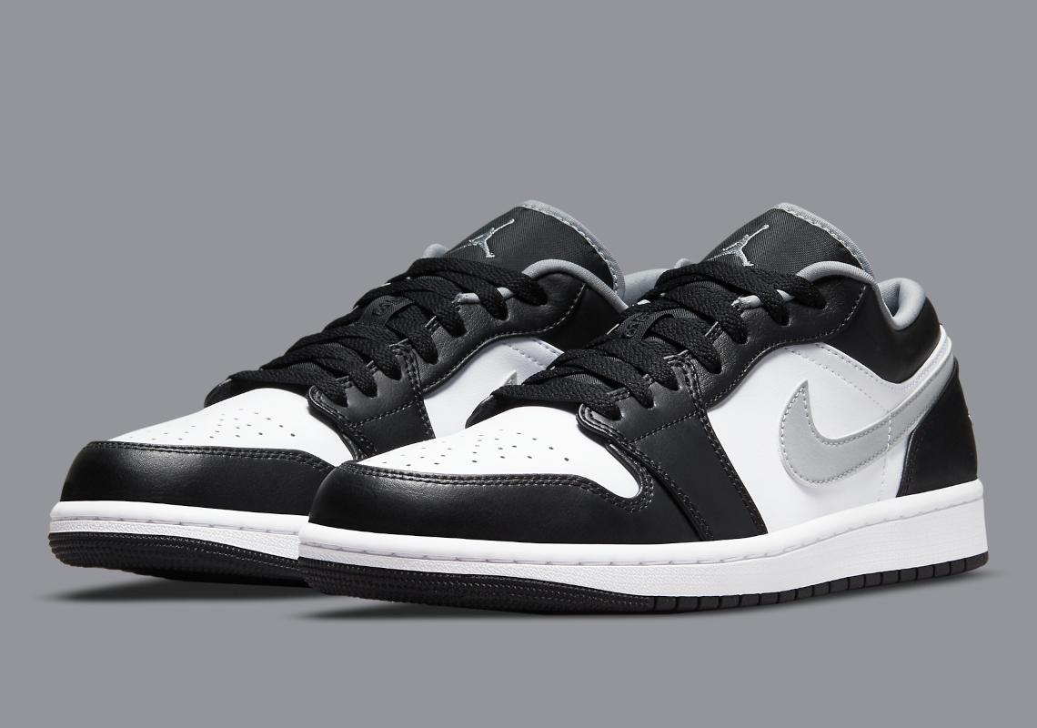Air Jordan 1 Low Black Medium Grey 553560-040   SneakerNews.com