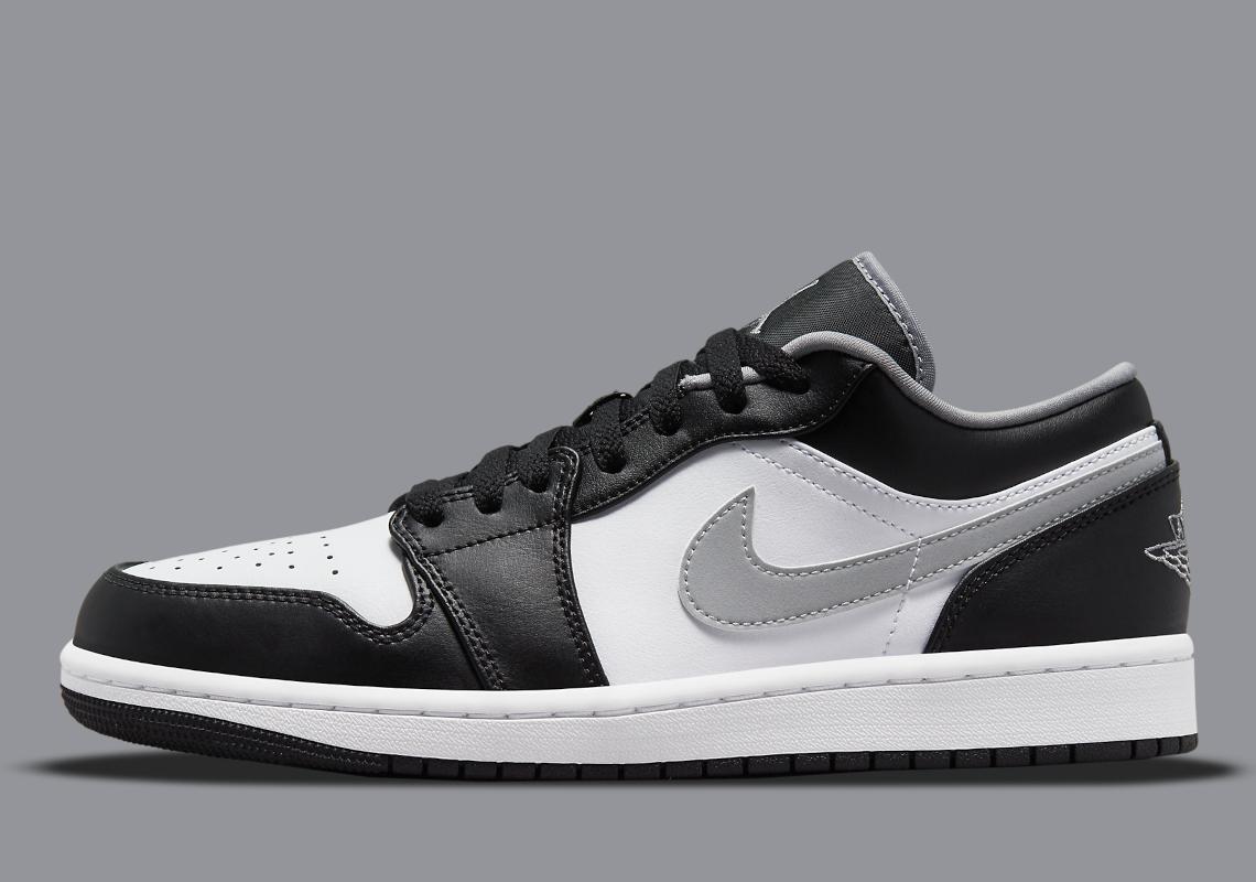 Air Jordan 1 Low Black Medium Grey 553560-040 | SneakerNews.com