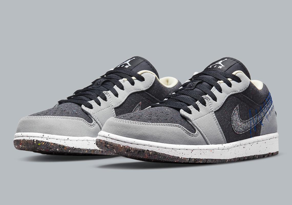 Air Jordan 1 Low Crater DM4657-001 Release Info   SneakerNews.com
