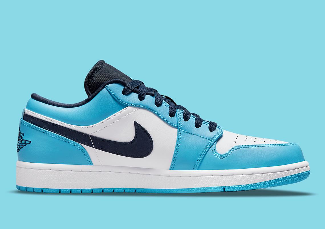 Air Jordan 1 Low UNC 553558-144 Release Info | SneakerNews.com