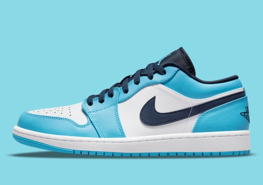 "Air Jordan 1 Low ""UNC"" Dropping In Adult And Kids Sizes"