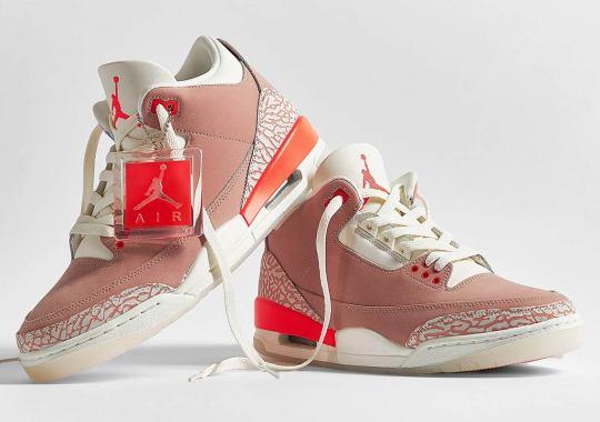 "Where To Buy The Air Jordan 3 ""Rust Pink"""