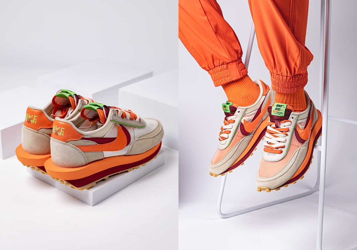 CLOT sacai Nike LDWaffle Release Info   SneakerNews.com