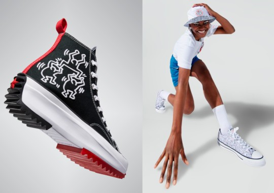 Keith Haring And Converse Celebrate The Power Of Creativity With First-Ever Collaboration