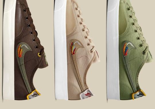 Daan Van Der Linden's Love For Fishing Inspired His Nike SB Blazer Court Pack