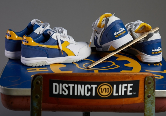 "DISTINCT LIFE And Diadora Encourage Self-Improvement With Upcoming ""HOME SCHOOL"" Collection"