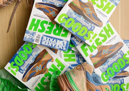 Joe Freshgoods' New Balance 990v3 Covers Sneaker Freaker Issue 45