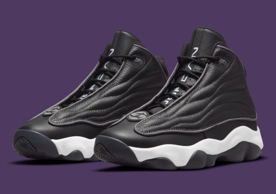 """The Jordan Pro Strong Appears In Simple """"Black/White"""""""