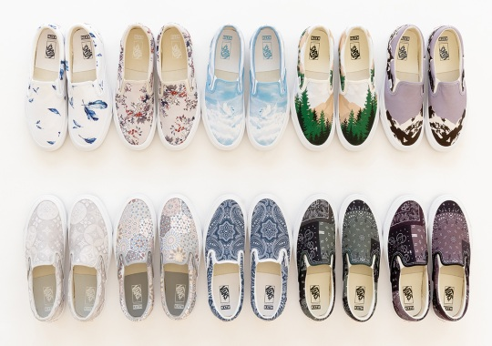 Vault By Vans Helps KITH Celebrate Their 10th Anniversary With 10 All-Over Print Slip-On LXs