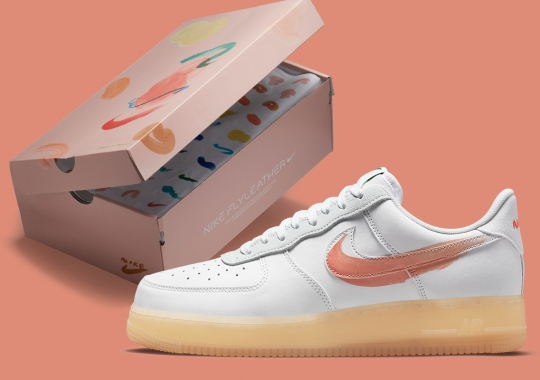 Official Images Of The Mayumi Yamase x Nike Flyleather Air Force 1