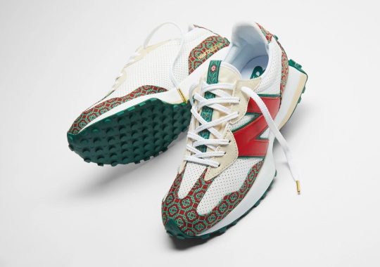 "Where To Buy The Casablanca x New Balance 327 ""Monogram"""