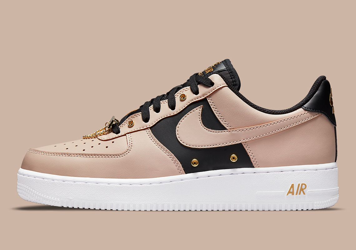 Nike Air Force 1 Tan Black DA8571-200 Release Info | SneakerNews.com
