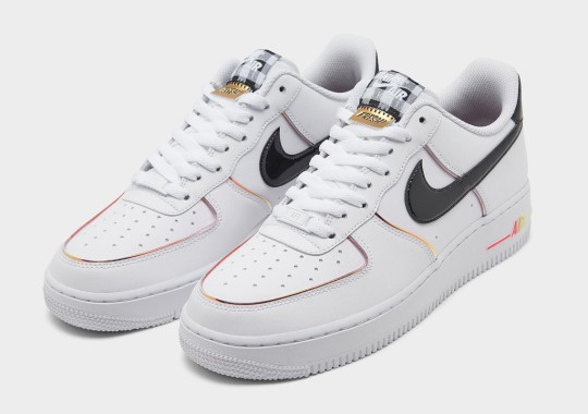 """The Nike Air Force 1 Low """"FRESH!"""" Features Patent Leather And Metallic Accents"""