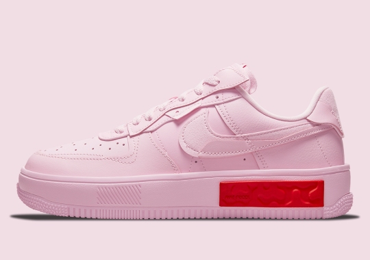 The Nike Air Force 1 Fontanka Celebrates A Very Late Valentine's Day
