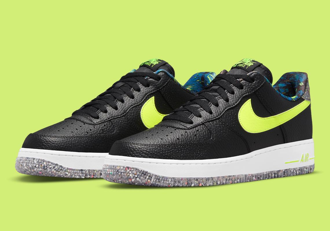 Nike Air Force 1 Grind Black Volt DM9098-001 | SneakerNews.com