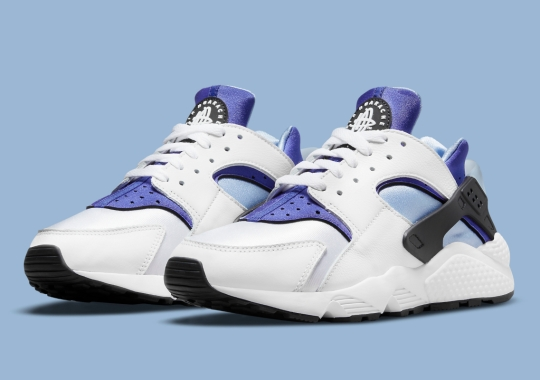 "This Nike Air Huarache Features ""Concord"" Neoprene"