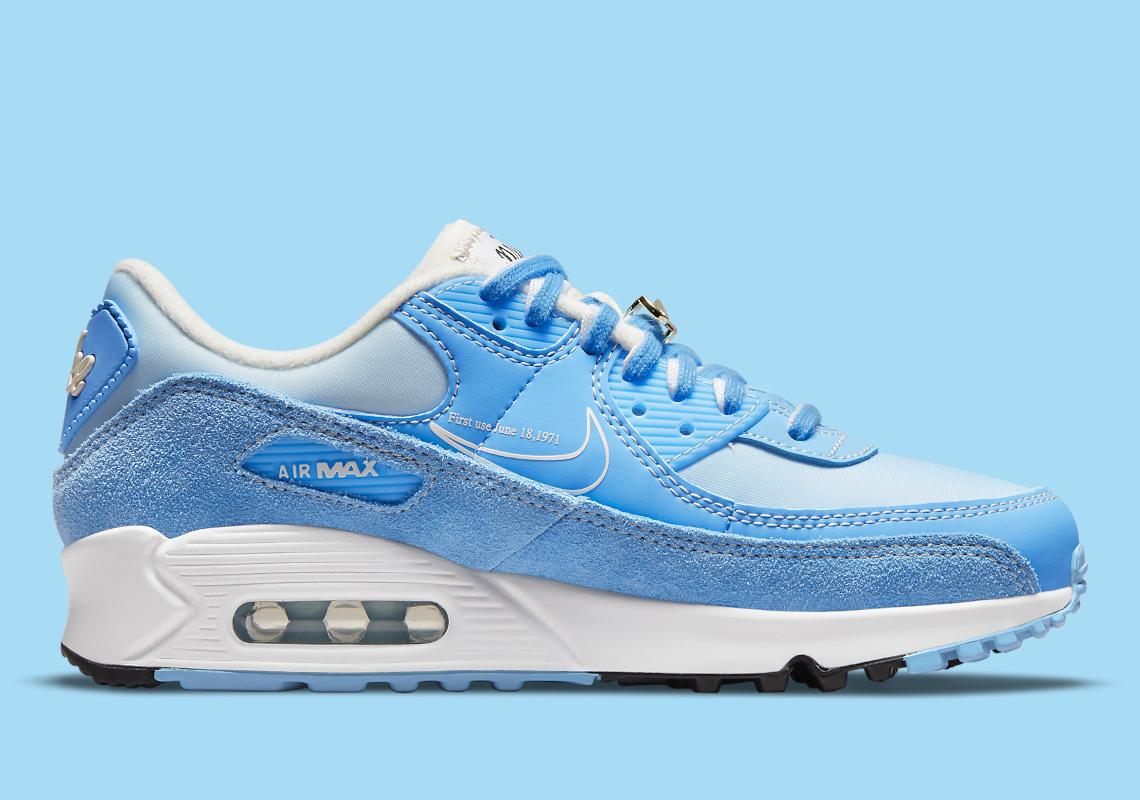 Nike Air Max 90 First Use University Blue DA8709-400 | SneakerNews.com