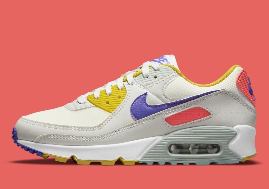 Another Mix Of Retro Colors Appears On The Nike Air Max 90