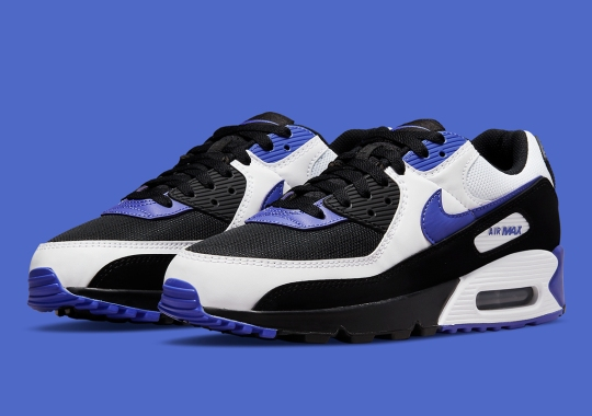 """The Nike Air Max 90 Reverses The """"Persian Violet"""" Colorway"""
