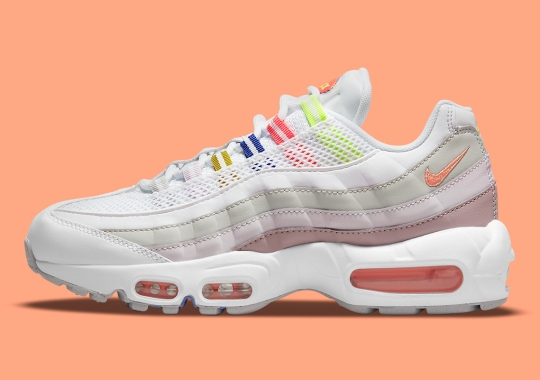 The Nike Air Max 95 Dons Multi-Color Accents Right In Time For Summer