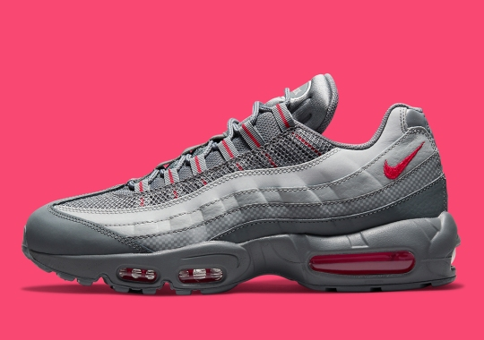 Nike Returns To Grey Gradients On This Air Max 95