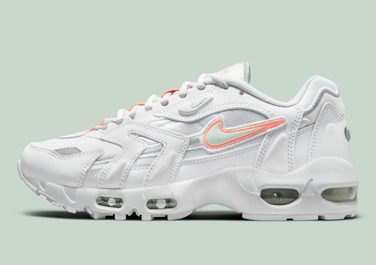 The Nike Air Max 96 II Appears In Pure Platinum And Bright Mango