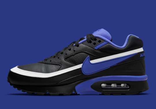 """The Original Nike Air Max BW """"Persian Violet"""" Gets Reworked In """"Black"""" Leather"""