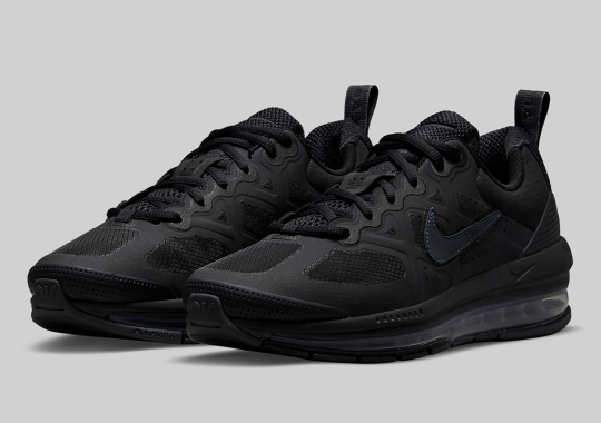 Triple Black Is Coming To The Nike Air Max Genome