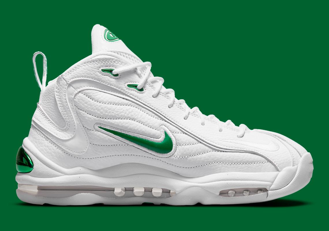 Nike Air Total Max Uptempo White Green CZ2198-101 | SneakerNews.com