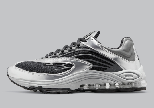 Metallic Silver Appears On The Nike Air Tuned Max
