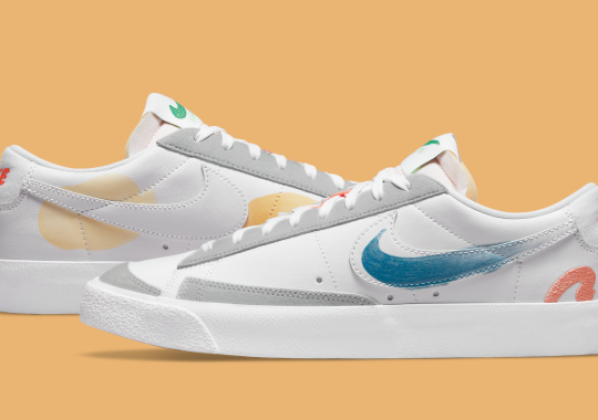Official Images Of The Mayumi Yamase x Nike Blazer Low Flyleather
