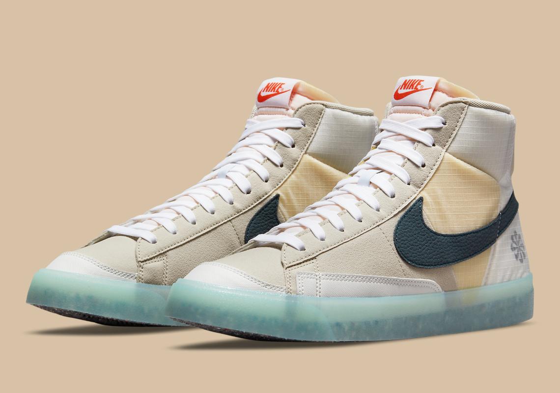 Nike Blazer Mid '77 Cream Glacier Ice DH4505-200 | SneakerNews.com