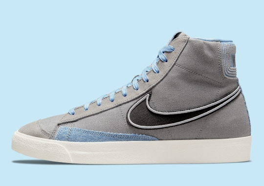 This Nike Blazer Mid '77 Features Dimensional Piping
