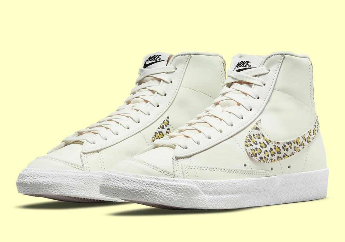 Nike Blazer Mid 77 Leopard DH9633-100 Release Info   SneakerNews.com