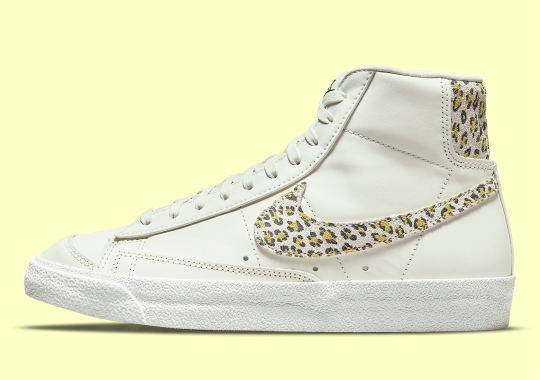 "Nike's Safari Themes Continue With The Blazer Mid '77 ""Leopard"""