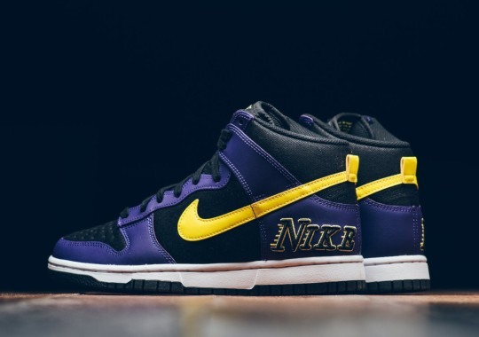"""Where To Buy The Nike Dunk High """"Lakers"""""""