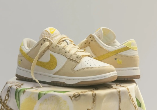 "Where To Buy The Women's Nike Dunk Low ""Lemon Drop"""