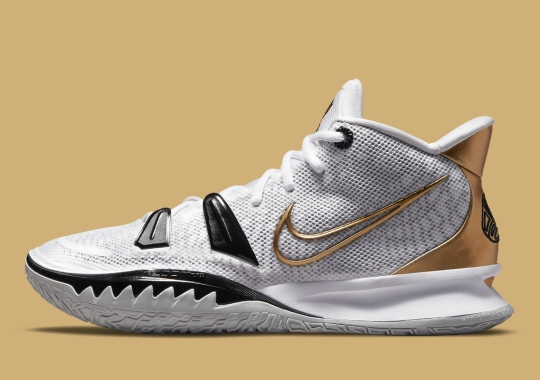 This Nike Kyrie 7 Has Its Sights Set On The NBA Finals