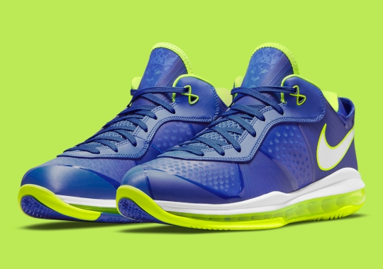 """Official Images Of The Nike LeBron 8 V/2 Low """"Sprite"""""""