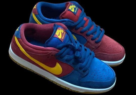 """First Look At The Nike SB Dunk Low """"Barcelona"""""""