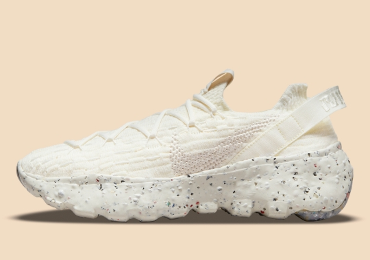 The Nike Space Hippie 04 Gets An Elegant All-Cream Look