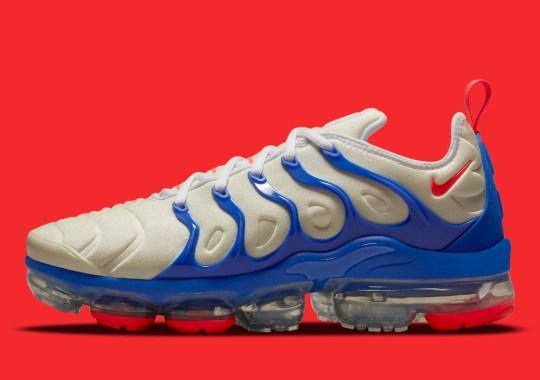 The Nike Vapormax Plus Prepares For Patriotic Occasions
